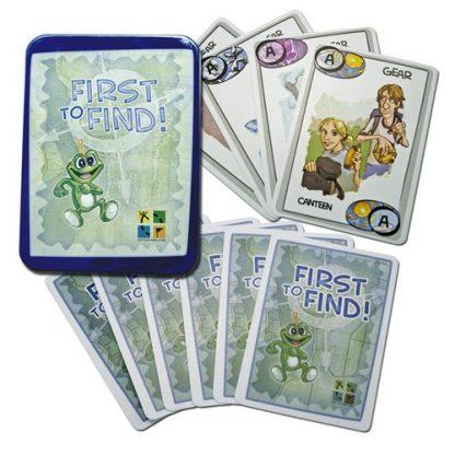 Igralne karte First-To-Find-0