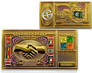 Euro zlati geokovanec-0