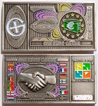 Euro srebrni geokovanec-0