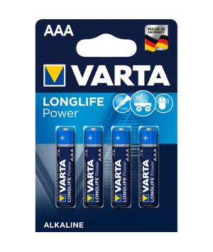 Alkalna baterija Varta Longlife Power AAA LR3 - 4 kos.-0