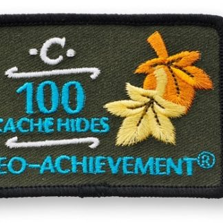 100 skritih zakladov - našitek-0