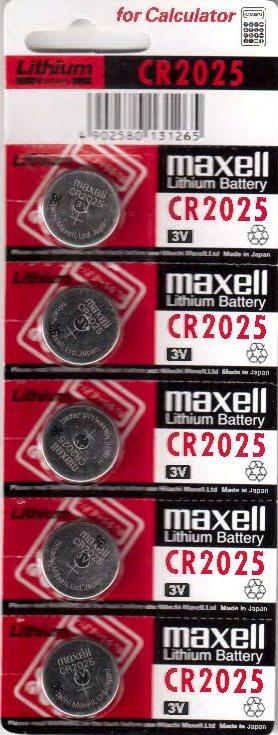 CR 2025 litijeva baterija-309