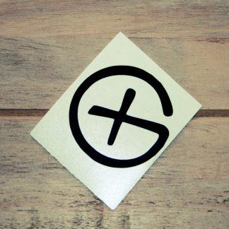 Nalepka logotip G črna-0