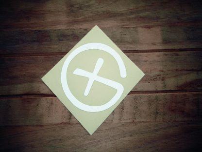 Odsevna nalepka logotip G-0