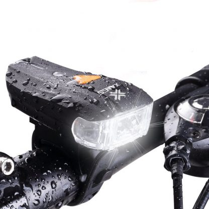Kolesarska LED svetilka 600lm z baterijo-0