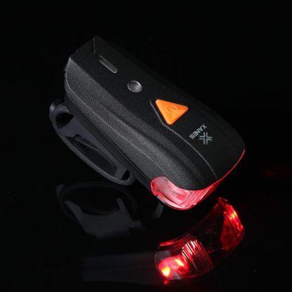 Kolesarska LED svetilka 600lm z baterijo-931