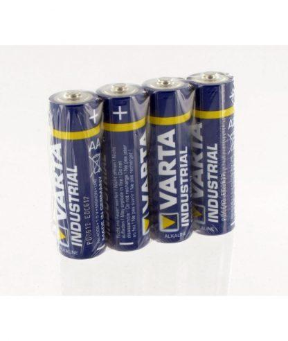 Alkalne baterije Varta industrial AA LR06 – 4 kos-0